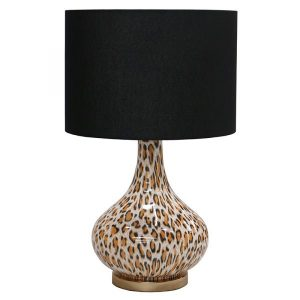 Shop categories: Lighting > Table Lamps (product) Leopard Lamp. Shop Designer furniture, homewares and accessories for your home with Rock The House.