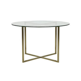 Shop categories: Furniture > Dining Tables (product) Elle Luxe Dining Table. Shop Designer furniture, homewares and accessories for your home with Rock The House.
