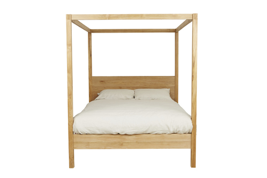 Shop categories: Furniture > Beds (product) Willow 4-Poster Bed - Queen. Shop Designer furniture, homewares and accessories for your home with Rock The House.
