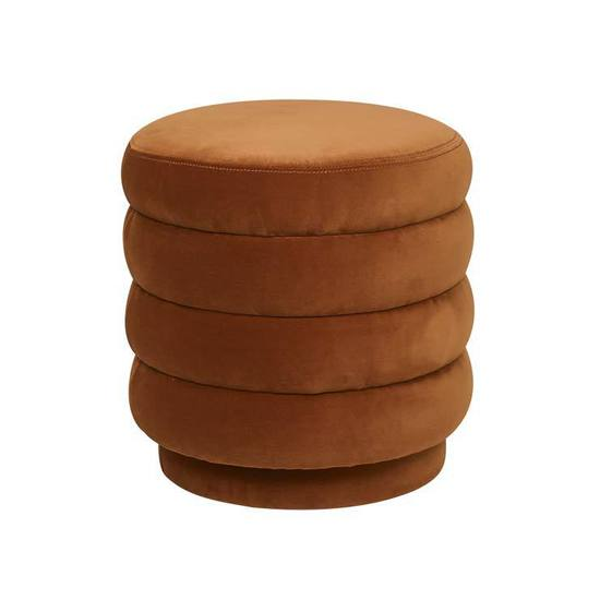 Shop categories: Furniture > Ottomans & Poufs (product) Kennedy Ribbed Ottoman. Shop Designer furniture, homewares and accessories for your home with Rock The House.