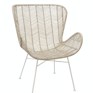Shop categories: Furniture > Chairs (product) Bahama Retro Wing Chair. Shop Designer furniture, homewares and accessories for your home with Rock The House.